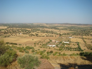Vista de Monsaraz.